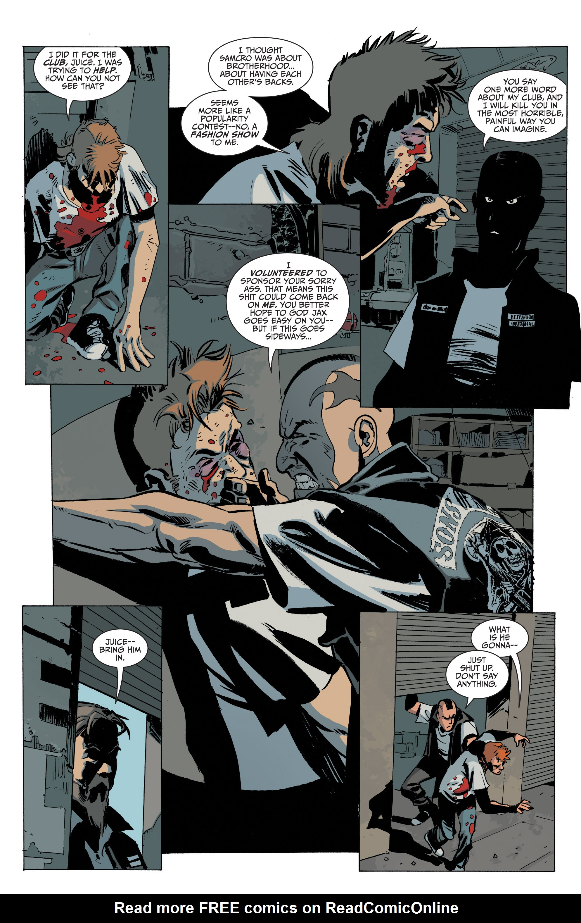 Read online Sons of Anarchy comic -  Issue #20 - 4