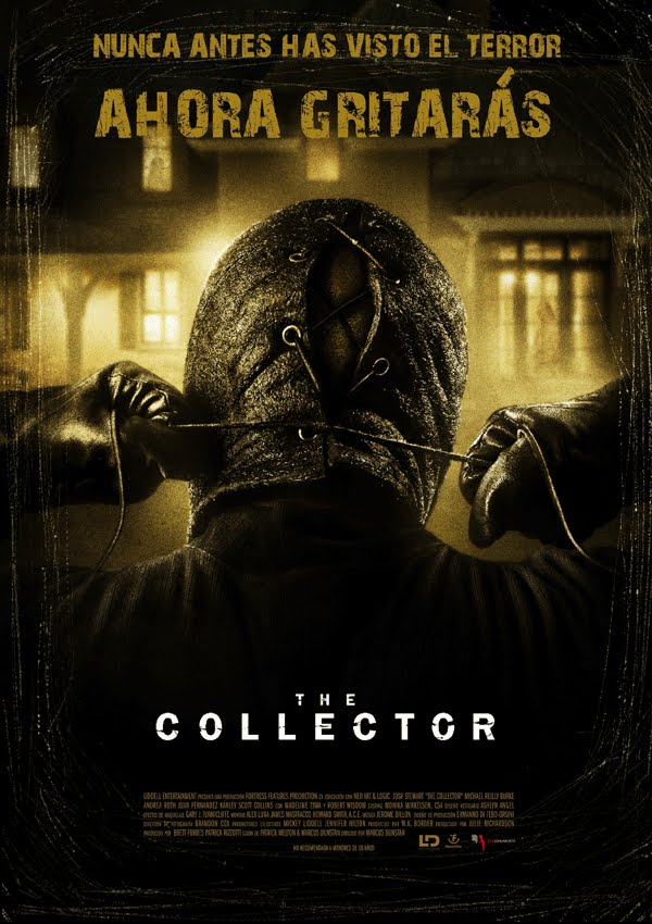 Póster: The Collector (Marcus Dunstan, 2.009)