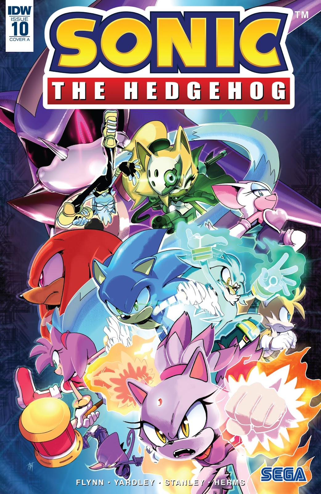 Sonic The Hedgehog Idw Comic Book Tv Tropes