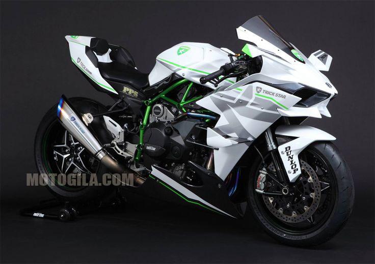 gambar motor Kawasaki H2R