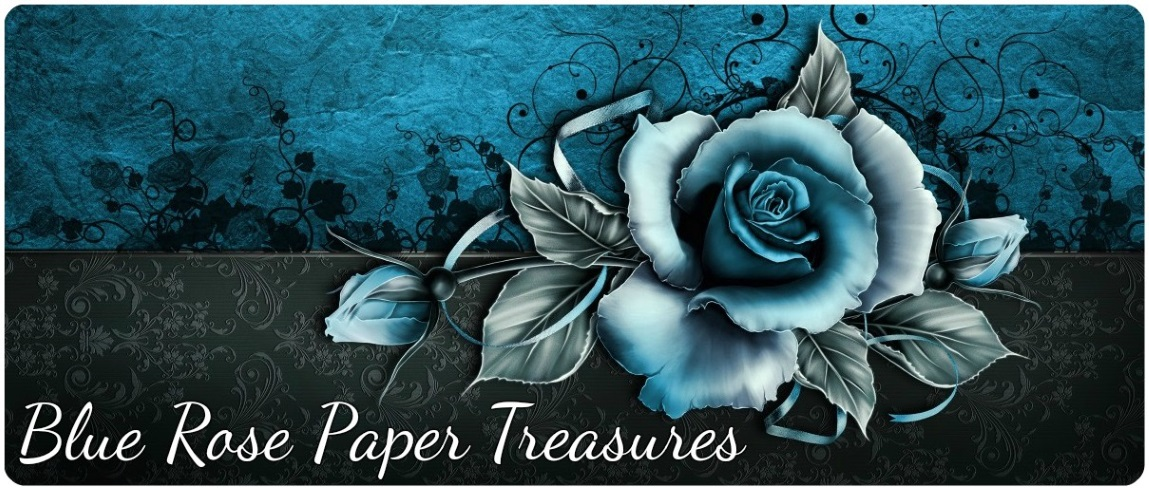 Blue Rose Paper Treasures
