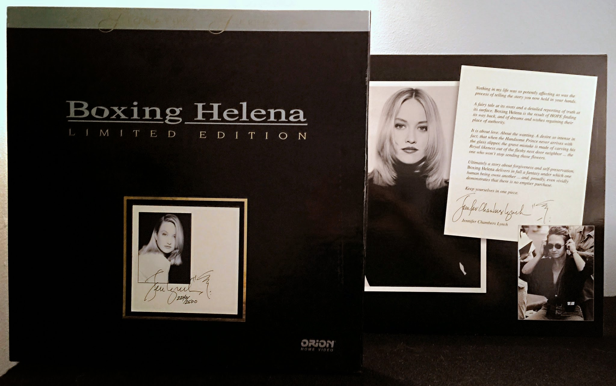 d0304cfa0b7 In 1994, Orion released Boxing Helena on laserdisc, and they released the  director's cut in 1995 as a special edition boxed set. MGM issued the film  on DVD ...