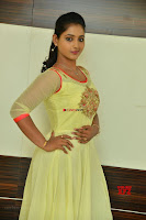 Teja Reddy in Anarkali Dress at Javed Habib Salon launch ~  Exclusive Galleries 004.jpg