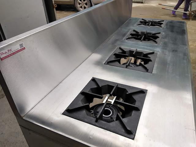 Mấu bếp á 4 họng nấu Bep36