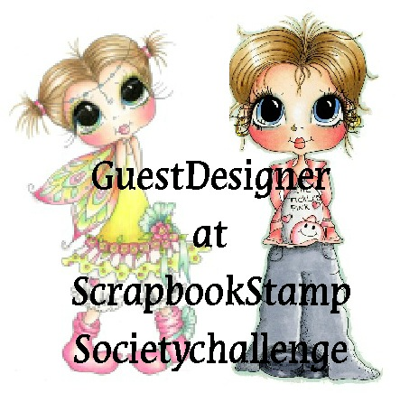 Guest Designer at Scrapbook Stamp Society