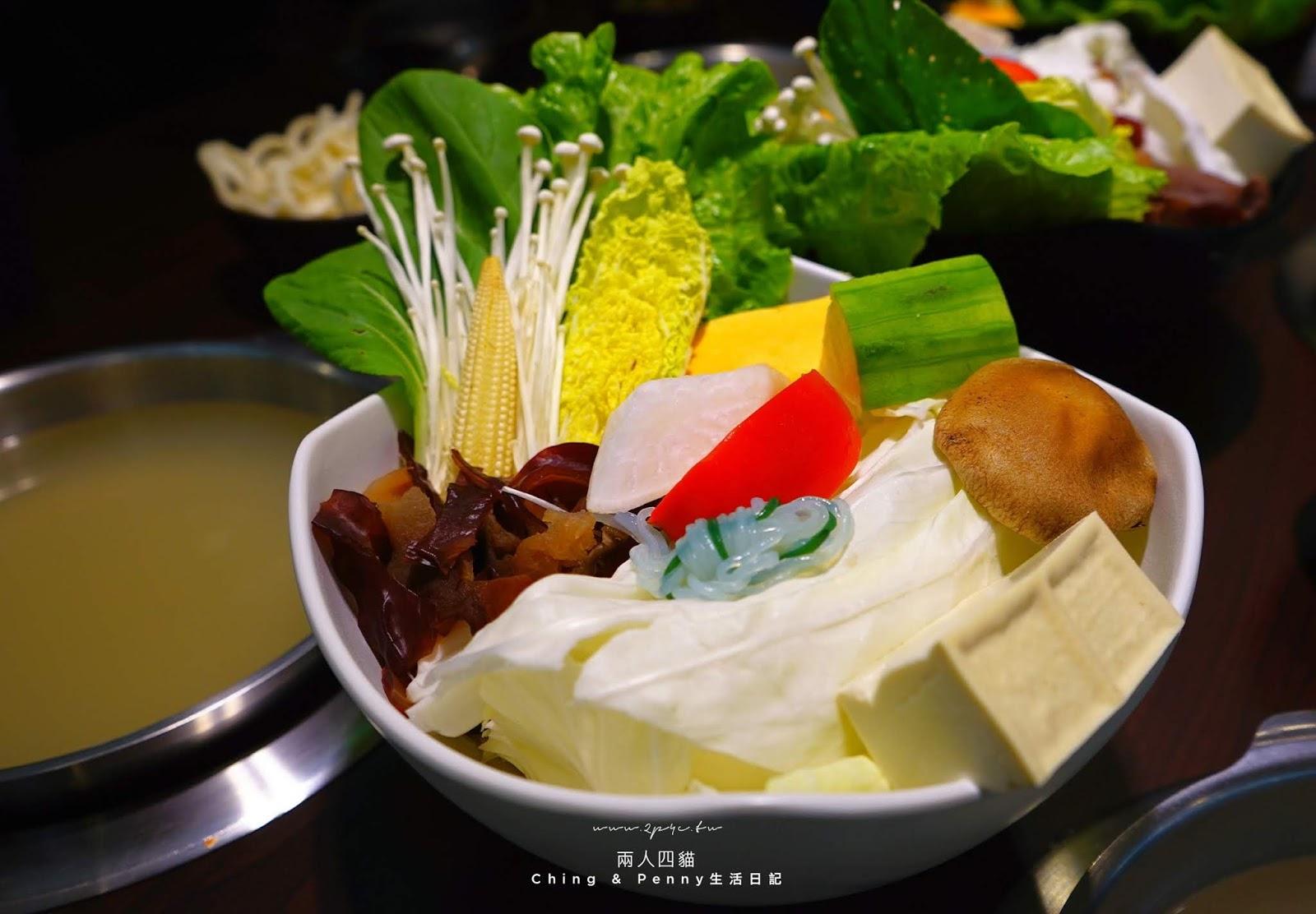 化饈火鍋 鮮蔬盤