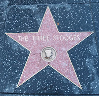 The Three Stooges star on Hollywood Walk of Fame
