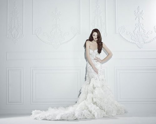 9d53332505c Michael Cinco Bridal Gowns 2012
