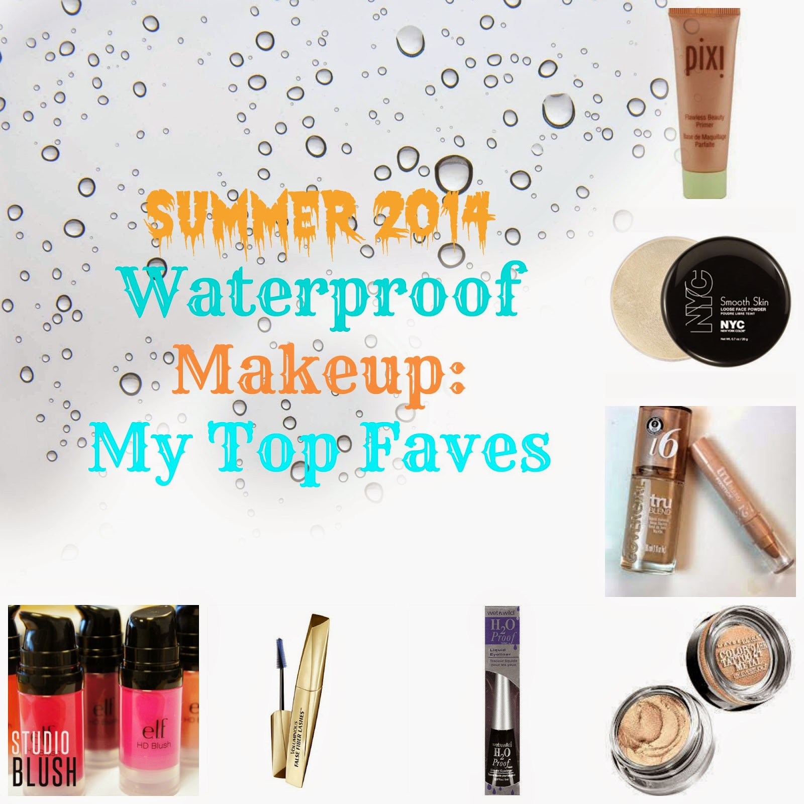 Waterproof drugstore makeup