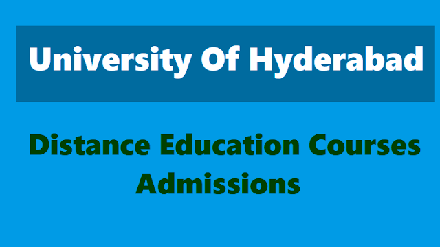 university of hyderabad distance pg diploma courses admissions 2019, uoh distance pg diploma courses admissions 2019, cde university of hyderabad distance education programmes 2019, uoh distance courses admissions 2019.