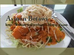 sama berbahan dasar aneka jenis sayuran namun dengan citarasa nan berbeda dan cirikhas yan Resep Masakan Asinan Betawi Nan Segar