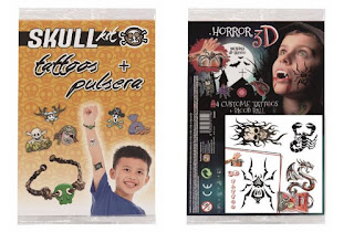 Tatoos Skull Kit y Horror 3D + Sorteo