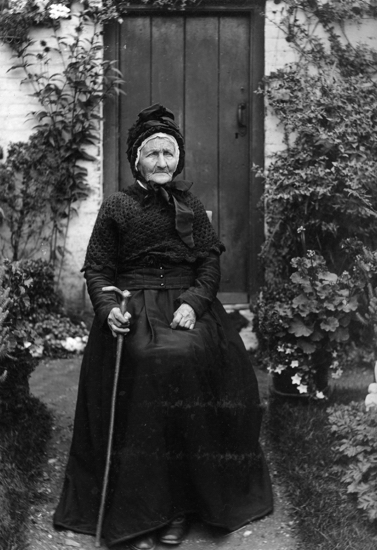 Picture of Mrs Rebecca Chuck c 1902
