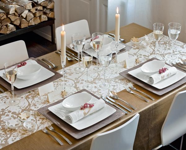 El blog de demarques ideas para decorar la mesa de navidad - Como adornar una mesa para navidad ...