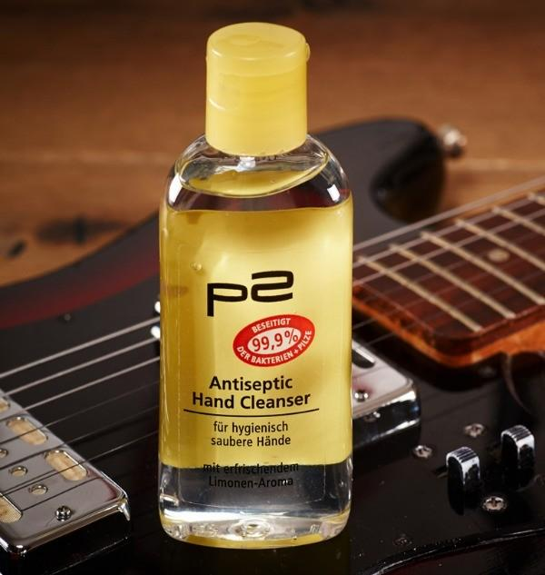 p2 Let's Rock! antiseptic hand cleanser