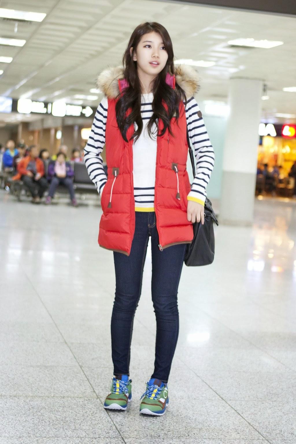 miss a suzy airport fashion official korean fashion