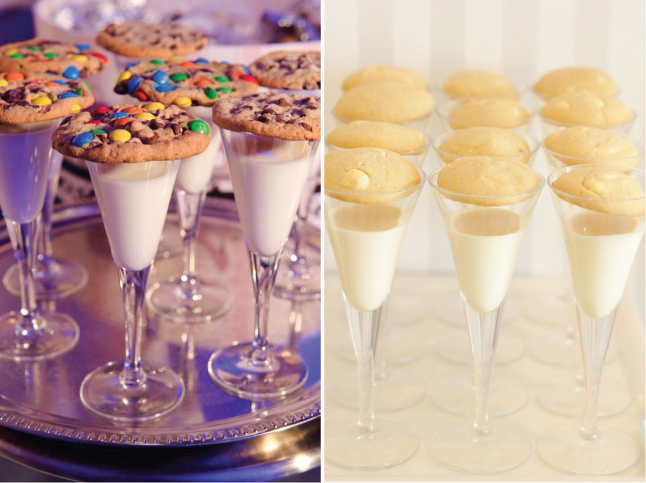 Weddings Trends} Milk and Cookies - Belle The Magazine