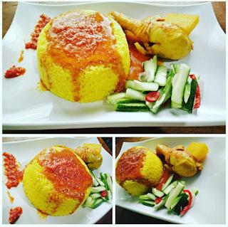 Resep membuat nasi kuning ala restoran