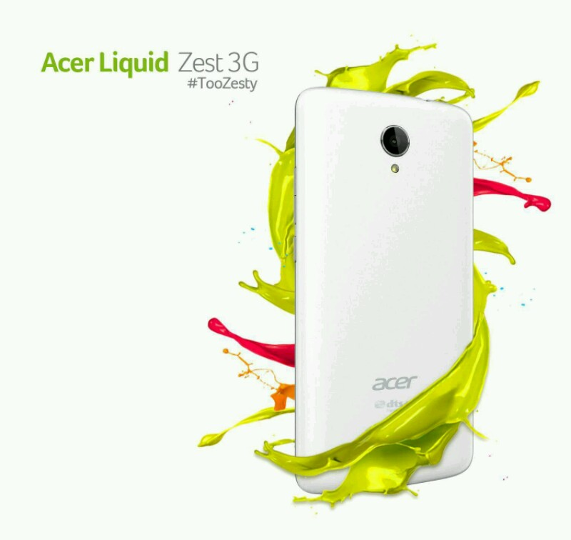 Acer Liquid Zest 3G