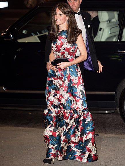 Catherine, Duchess of Cambridge attends the 100WHF 2015 (Women in Hedge Funds) Gala Dinner at the Victoria and Albert Museum for the benefit of The Art Room