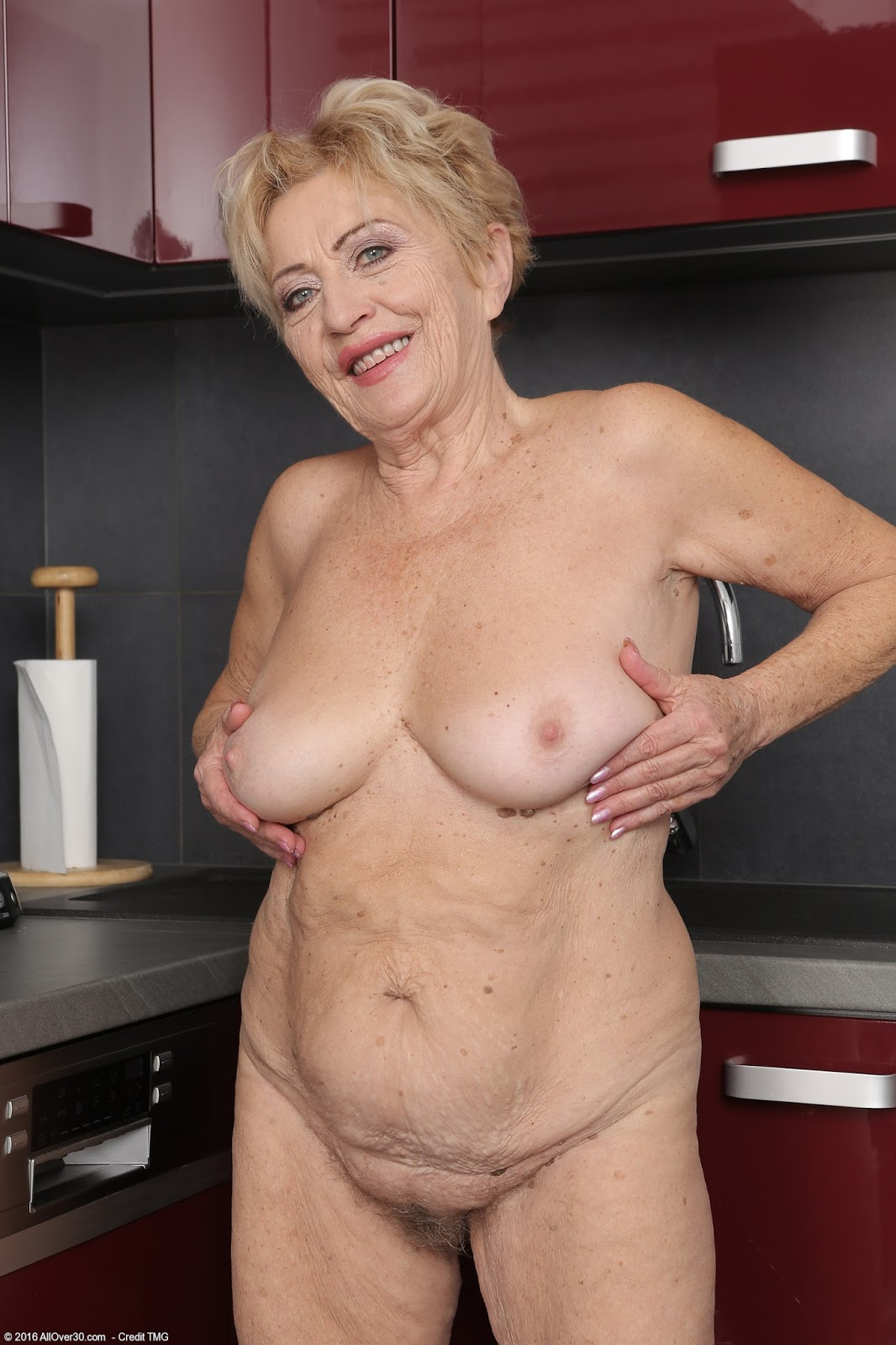 82 year old grandma libby takes young black cock 10
