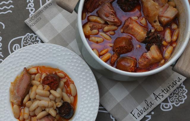 Fabada fabes Receta tradicional asturiana fabas