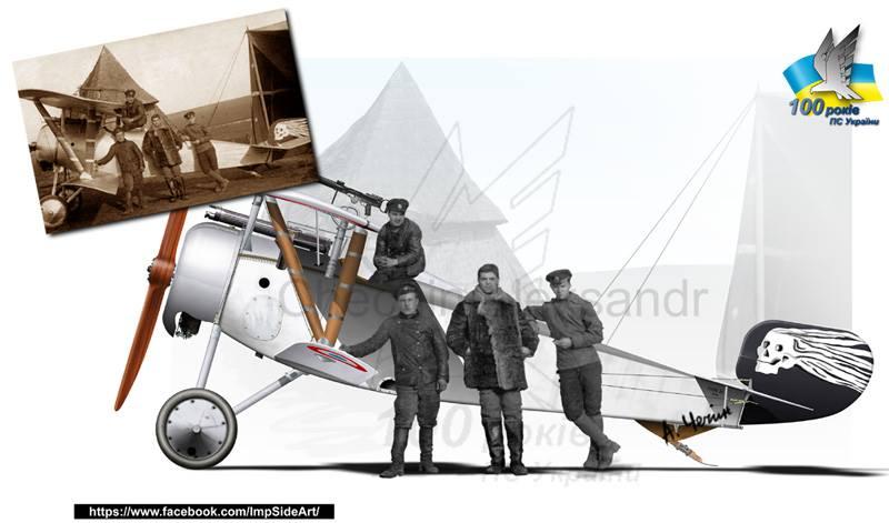 Nieuport 23 з 3-го Херсонського авіадівізіону (1917 р)