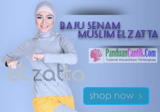 Baju Olahraga Muslimah Syari Zoya Elzatta - Kumpulan Baju Senam Muslim Trendy Modern dan Murah Terbaru Lengan Panjang Pendek Tanah Abang