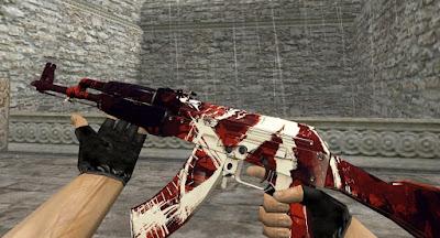 Skin AK47 - Marauder (CS:GO) HD para CS 1.6