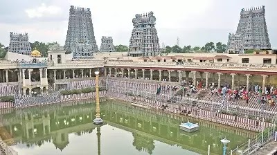 Madurai Meenakshi Temple History in Tamil