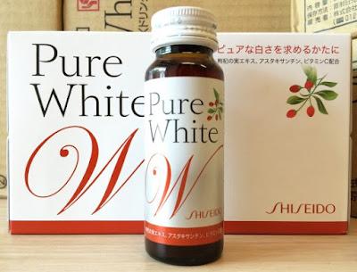 Nước uống trắng da Collagen pure white