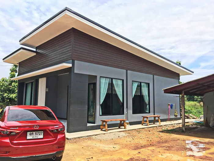 small-modern-house-by-Nichakan-Wicheanchai-3 Philippine House Designs And Costs on chicken houses, looking some houses, good looking houses,