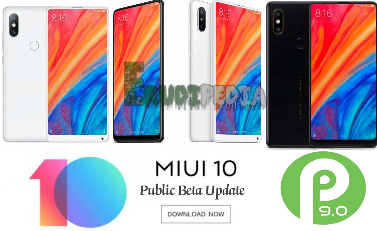 mi mix 2s android 9 pie miui 10 public beta update