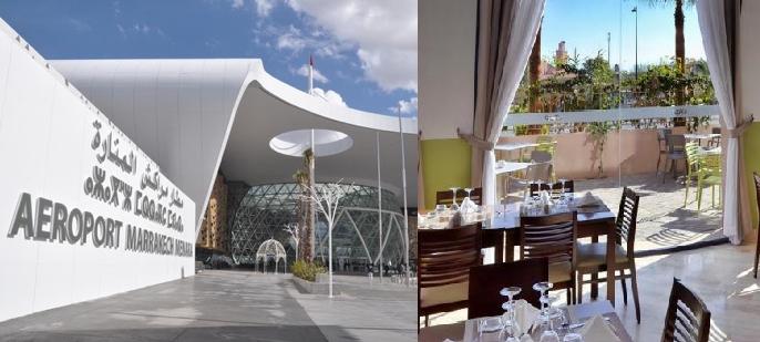 توظيف 10 مناصب موظف متعدد خدمات المطعمة براتب 3600 درهم شهريا بمطعم و مقهى بمطار مراكش المنارة