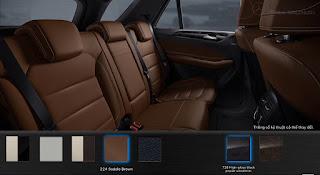 Nội thất Mercedes GLE 400 4MATIC Exclusive 2015 màu Nâu Saddle 224