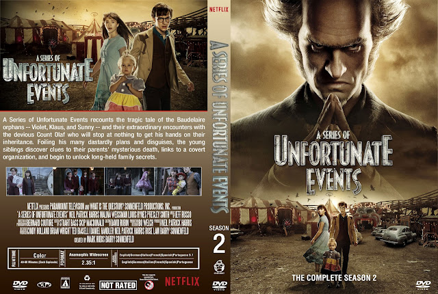 A Series of Unfortunate Events Season 2 DVD Cover