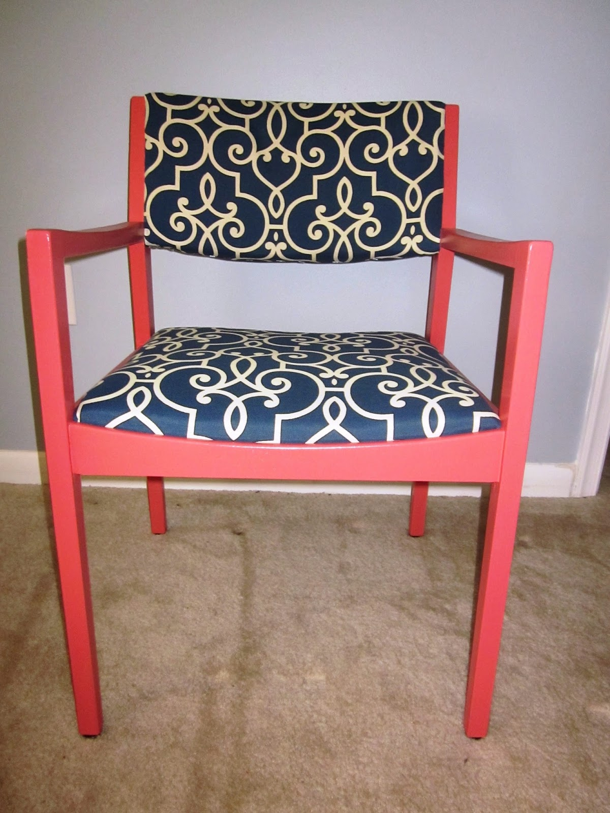 Coral Chair Cape Cod Creativity Color Trend Coral Chair