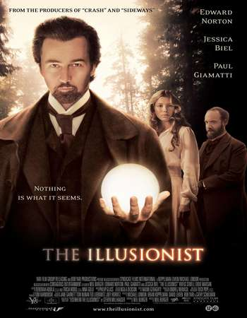 Poster Of The Illusionist 2006 Hindi Dual Audio 450MB BRRip 720p HEVC Free Download Watch Online downloadhub.net