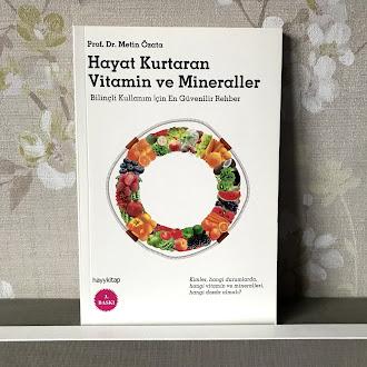 Hayat Kurtaran Vitamin ve Mineraller (Kitap)