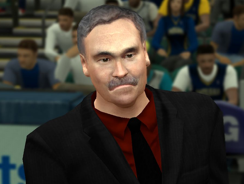 NBA 2K14 Coach Mike D'Antoni Face Mod