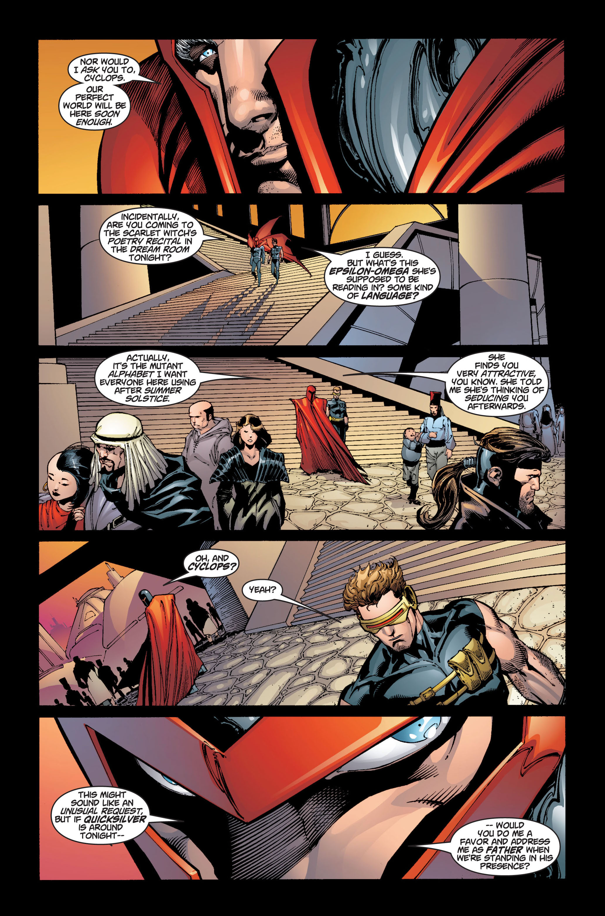 Read online Ultimate X-Men comic -  Issue #5 - 14