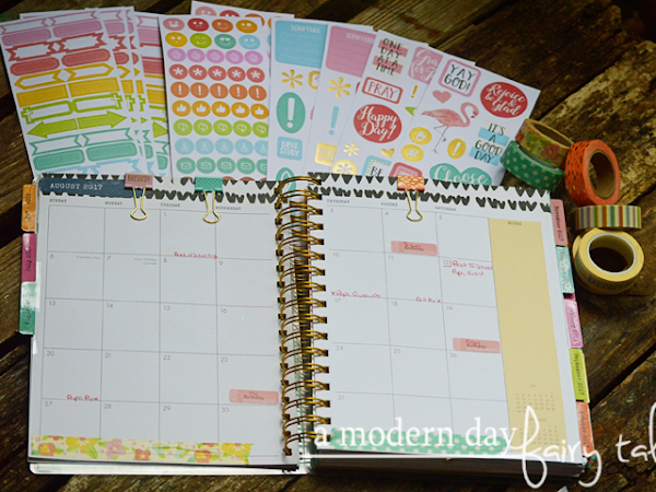 Be Still {Finding Organization in the Back To Busy Season + Planner Supplies from Dayspring} #Dayspring