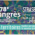 Sur votre agenda : Le 78ème Congrès de l'Union Sociale pour l'Habitat  du 26 au 28 septembre à Strasbourg !