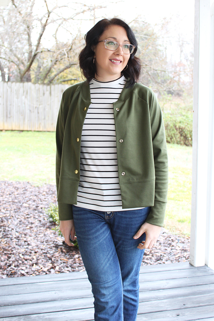 Monarch Jacket // Sewing For Women