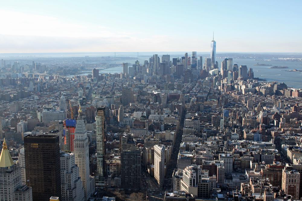 New Yorkin parhaat nähtävyydet 1