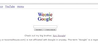 Weenie+Google