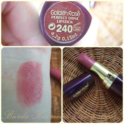 Burda Kozmetik Konuşulur Golden Rose Perfect Shine Ruj 240
