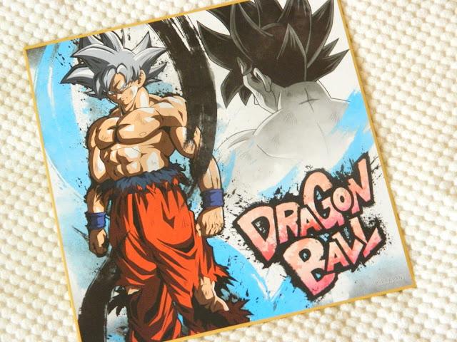 an art print of Goku, a character from Dragon Ball Z