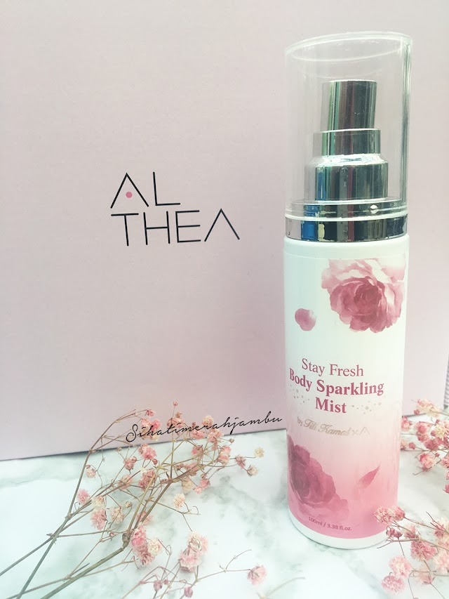 Review | Althea Stay Fresh Body Sparkling Mist  #TitixAltheaKorea