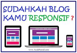 Cara mengecek blog Sudah Responsif
